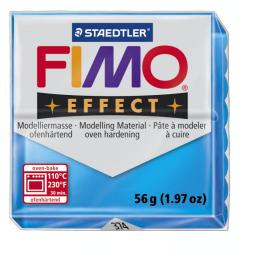Fimo effect transparant blauw nr. 374.