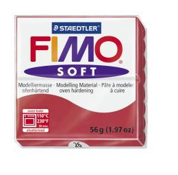 Fimo soft kers rood nr. 26.