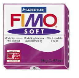 Fimo soft paars violet nr. 61.