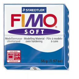Fimo soft pacific blauw nr. 37.