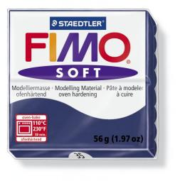 Fimo soft windsor blauw nr. 35.