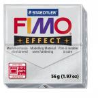 Fimo effect metallic zilver nr. 81.