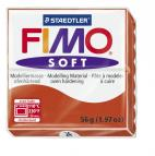 Fimo soft indisch rood nr. 24.